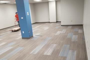 Carpet Tile Plank Installation Central Illinois