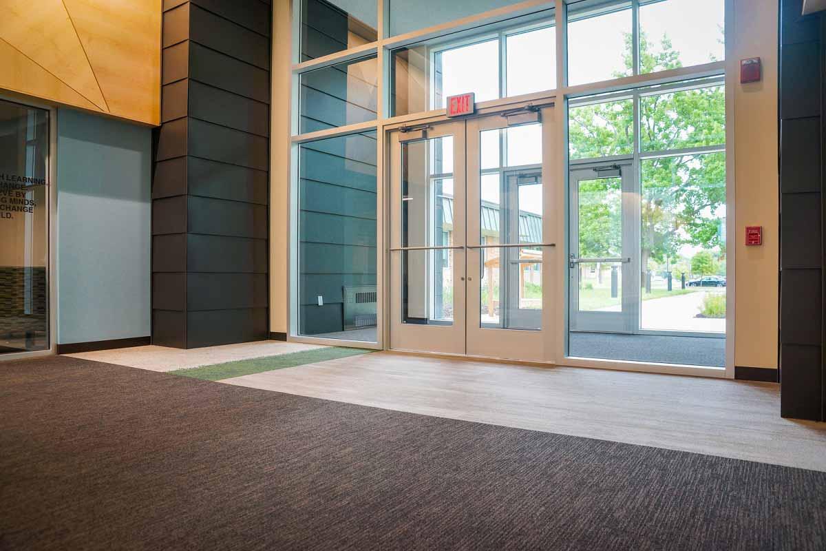 Carpet-Vinyl Entryway Central Illinois