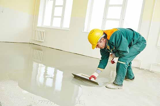 Floor Leveling & Site Preparation